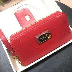 Michael Kors Zip Wallet Compact